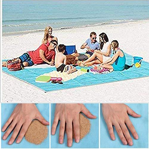 LEANO Sandless Beach Mat Outdoor Travel Self-Driving New Beach Mat Blankets