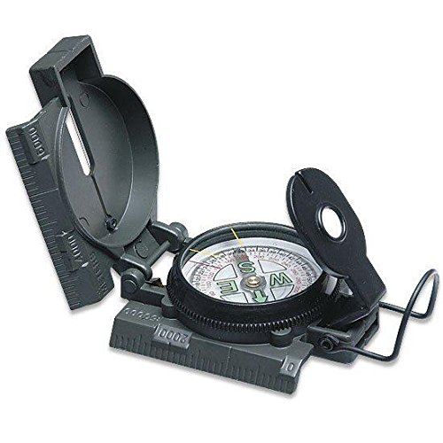 Survival Camping Hiking 20X70 Binoculars Green,Emergency First Aid Kit, Sharpener, Axe, Fire Blade, Whistle Flint Striker Belt Buckle, ACU Hydration Backpack, Multi Tool, Compass, Signal Mirror by Ultimate Arms Gear (Image #6)