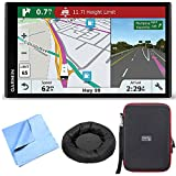 Cheap Garmin RV 770 NA LMT-S RV GPS Navigator for Camping w/ Dash Mount + Case Bundle includes Nav-Mat Portable GPS Dash Mount, PocketPro XL Hardshell Case and Cleaning Cloth