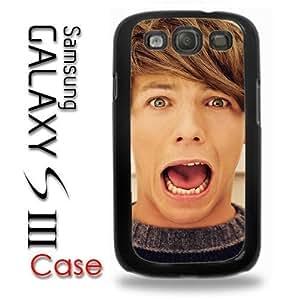 Samsung Galaxy S3 Plastic Case - 1D Louis One Direction Louis Picture WANGJING JINDA