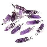 YIVSHINE Quartz Stones Pendant Wholesale 12PCS