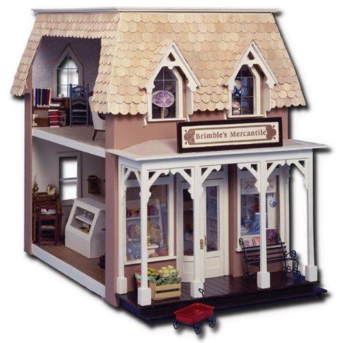 Greenleaf Brimbles Mercantile Dollhouse Kit Laser ()