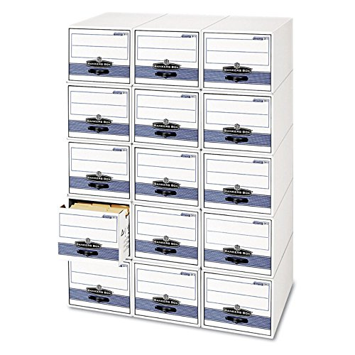 Fellowes Bankers Box Stackable Super Stor/Drawer Steel Plus Filing Storage - Moderate Use