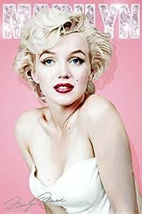 GB Eye Marilyn Monroe Diamond Poster