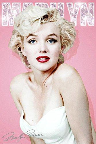 Color Marilyn Monroe (GB Eye Marilyn Monroe Diamond Poster)