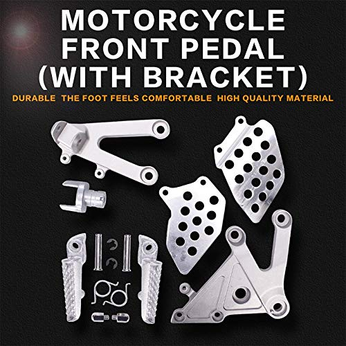 Frames & Fittings Front Foot Rests Pedal Bracket Assembly Kit for Honda CBR600RR F5 2003 2004 2005 2006 CBR600 F5 03 04 05 06 Motorcycle Parts