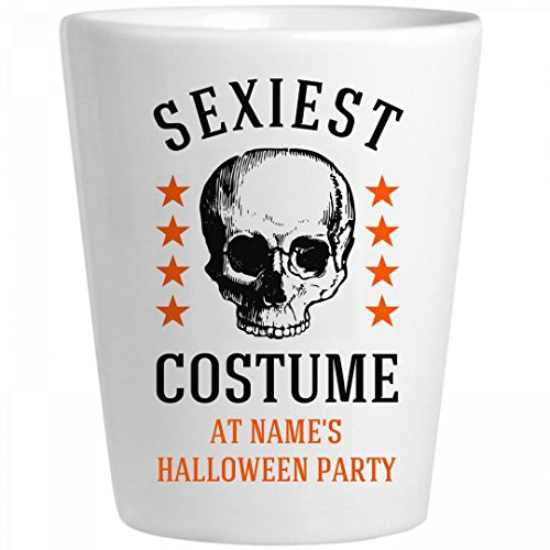 Sexiest Costume Contest Prize: Ceramic Shot (Sexiest Halloween Costume Contest)