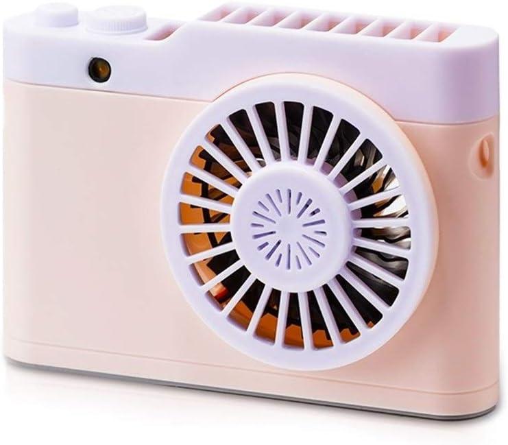 Air Cooler Mini USB Charging Fan 3 Gear Wind Electric Fan Outdoor Indoor Desktop Personal Fans Color : 01