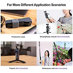 Feiyu Pocket 6-axis Stabilized Handheld Gimbal Camera 120° Ultra-Wide Angle Lens 4K/60fps Video Record Touchscreen Built… Fdeals [tag]