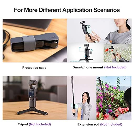 Feiyu Pocket 6-axis Stabilized Handheld Gimbal Camera 120° Ultra-Wide Angle Lens 4K/60fps Video Record Touchscreen Built… Fdeals camera