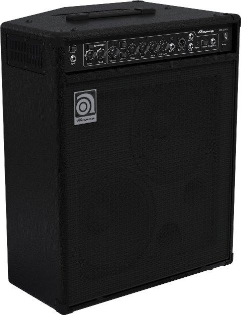 ampeg ba210v2 2 x 10 inch combo bass amplifier musical instruments stage studio. Black Bedroom Furniture Sets. Home Design Ideas