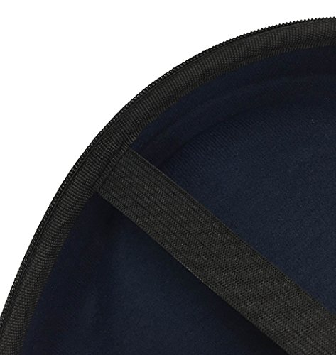 Full-Sized HardBody Headphone Carrying Case Pouch Storage Travel Bag for Audio Technica M50x Sennheiser Monster Beats Bose QuietComfort 35 25 Sony MDR7506 AKG Beyerdynamic + More Headphones - (Black)