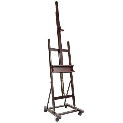 Amazon.com: SoHo Urban Artist Wooden H-Frame Studio Easel - Deluxe ...