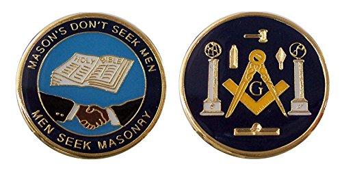 Mason Charity - Faith - Hope Collectible Challenge Coin /Logo Poker/ Lucky - In Stores Mason Ohio