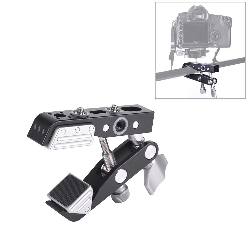 Camera Super Clamp Magnetic Fixed Holder Mount Lightweight and Durable by JUNXI