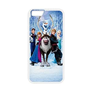 Frozen Cartoon iPhone 6 4.7 Inch Cell Phone Case White DIY Ornaments xxy002-3664865