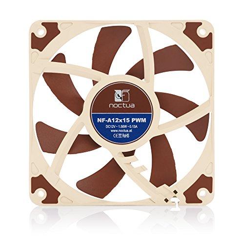 Noctua NF-A12x15 PWM Premium-Quality Quiet Slim 120mm Fan by noctua