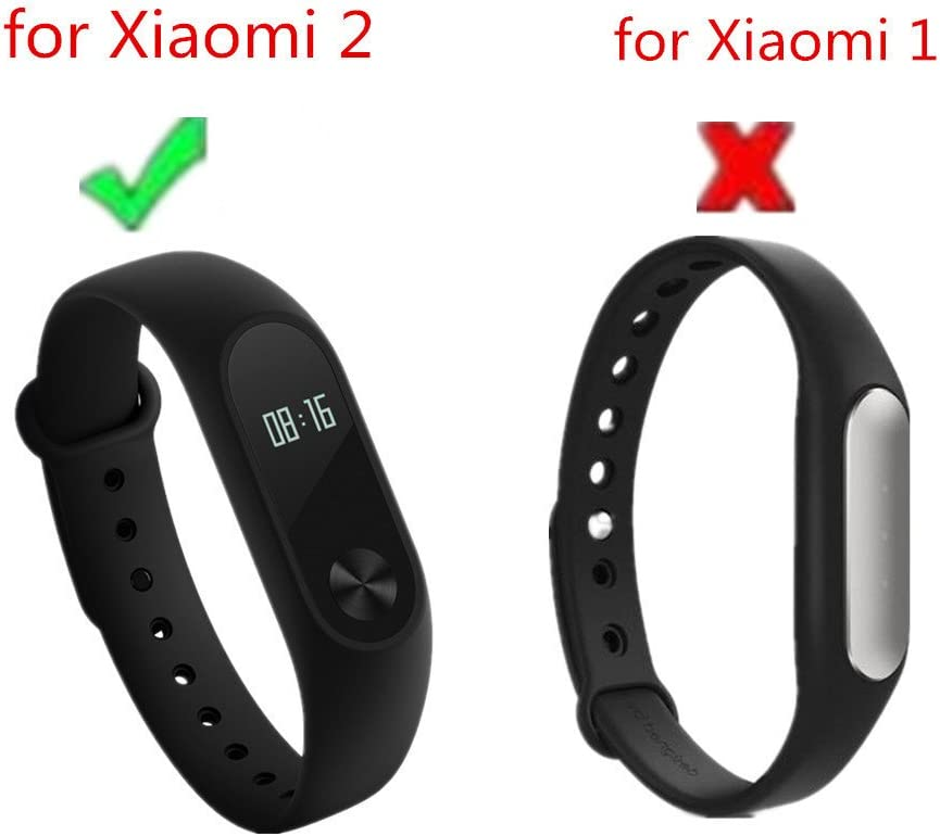 Amazon.com: Pulsera Van + Xiaomi Mi Band 2 bandas de correa ...