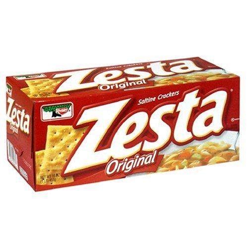 Zesta Saltine Crackers, Original, 16-Ounce Box (Pack of 6) by Zesta