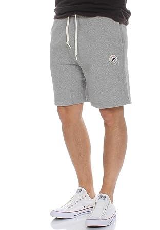 523cfd624eb9 Converse Men Pants Short Core FT Grey M  Amazon.co.uk  Clothing