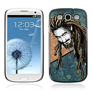 JinStore Hard Case Cover for Samsung Galaxy S3 i9300 / Cool Reggae Rasta
