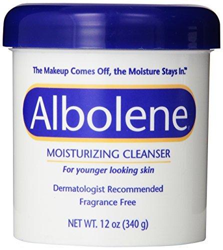 Cleanser Albolene Dry Skin (Albolene Moisturizing Cleanser, 12oz by DSE)