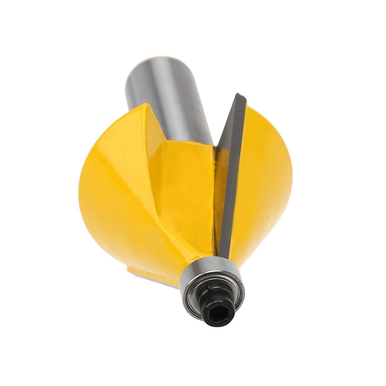 HOEN 1//4 Shank 15 Degree Chamfer /& Bevel Edging Router Bit 2-5//8H Woodworking Tool