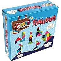 Brinquedo Pedagogico Madeira Tangram 35 Pecas Em Madeira Carlu