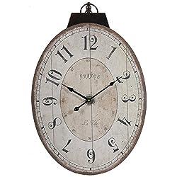 A&B Home Lu Ville Wall Clock, 17.7 X 29-Inch