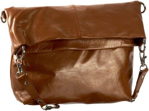 Latico Irene Cross-Body,Metallic Copper,one (Copper Metallic Leather Handbags)