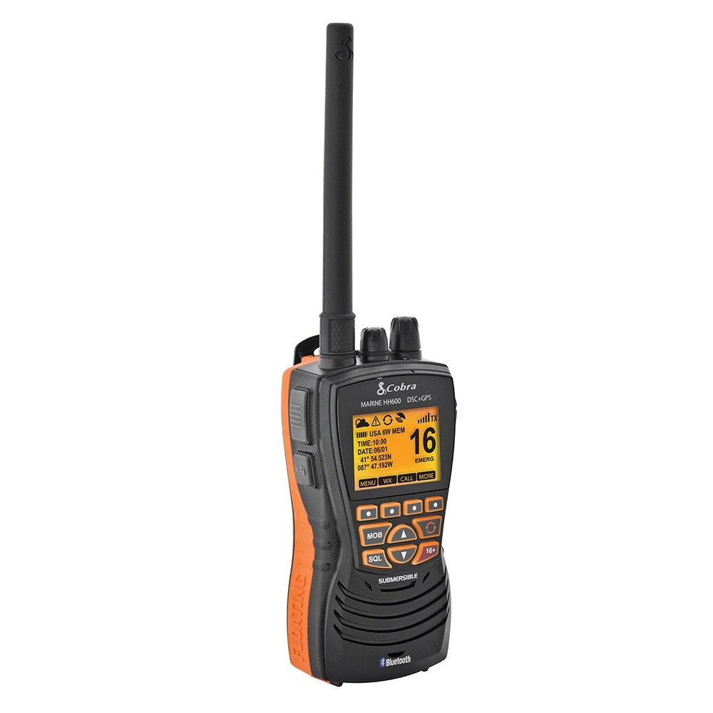 Cobra MR HH600 Mrhh600 Flt GPS Bt, Dsc Floating Vhf Radio