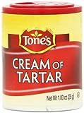 Tone's Mini's Cream of Tartar, 1.00 Ounce (Pack of 6)