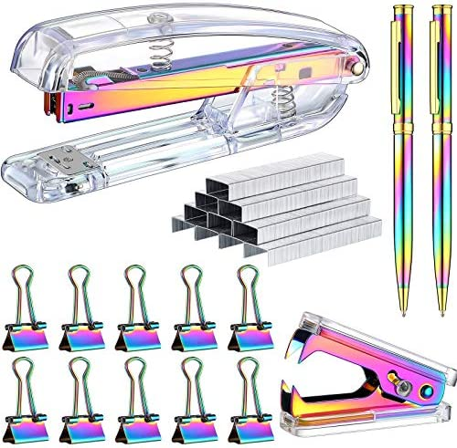 1014 Pieces Acrylic Stapler Set, Including Stapler,...