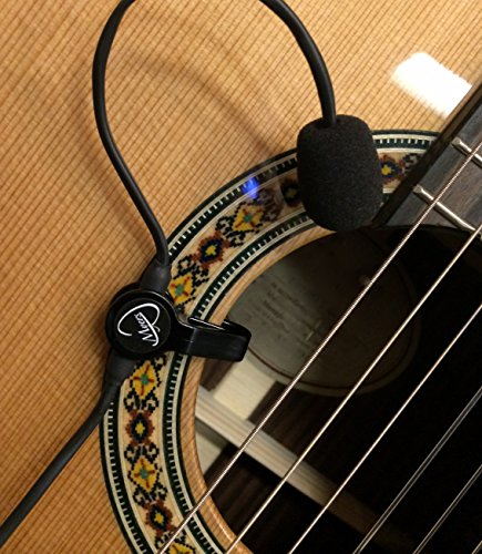 - The Feather Gypsy Jazz Guitar Pickup with Flexible Micro-Gooseneck by Myers Pickups