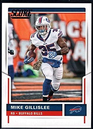 11732aa7c48 Amazon.com: 2017 Score #23 Mike Gillislee Bills Football ...