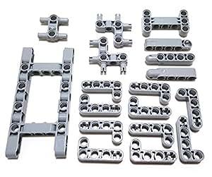 Kids Building Toys Gray Beams