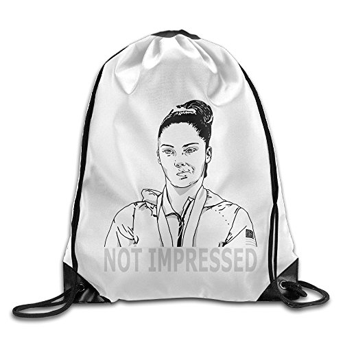 Price comparison product image Show Time McKayla Not Impressed Look Backpack Gymsack Drawstring Rucksack