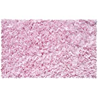 The Rug Market Shaggy Raggy Pink Area Rug Size 22x34