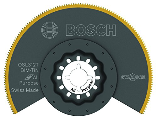 Bosch OSL312T Starlock Titanium Segmented