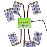 [UPGRADED] Morpilot 6 Pcs 3.7V 720mAh 20C Lipo Battery Molex Plug+6 Port Battery charger for Syma X5 X5C X5SW X5C-1 X5SW Cheerson CX-30W UDI U45 RC Quadcopter