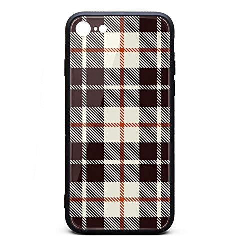 Phone Case for iPhone 6/6S Lattice British Plaid Checkerboard TPU Full Body Protection Cool Anti-Scratch Fashionable Glossy Anti Slip Thin Shockproof Soft Case