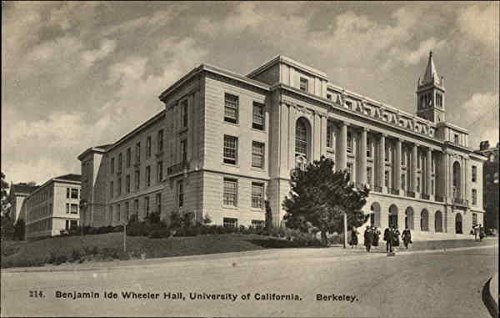 University of california berkeley wheeler hall