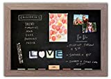 Magnetic Chalkboard with Driftwood Frame