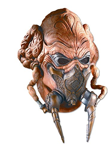 - Rubie's Men's Star Wars Deluxe Adult Latex Plo Koon Mask, Multicolor, One Size