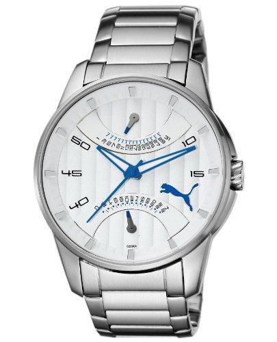 Puma Men's Watch(Model: 24H Race Metal Silver)