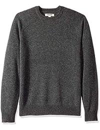 Men's Lambswool Crewneck Sweater