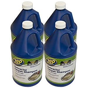 ZEP ZUCEC128 Carpet Extractor Cleaner 128 Ounces (Case of 4)