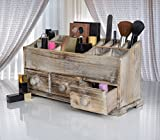 Vanity Drawer Beauty Organizer 3 Drawers - Wooden