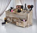 Vanity Drawer Beauty Organizer 3 Drawers - Wooden