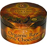Earth Circle Organics Chocolate, Organic, 70 Percent Dark, Raw